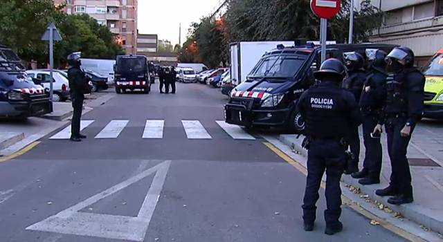 Operación antidrogra de los Mossos d'Esquadra en la Mina